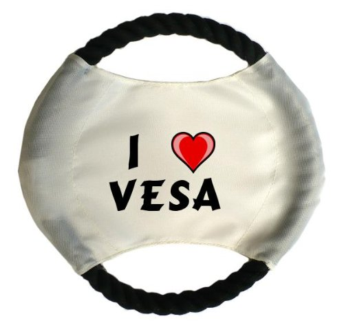 personalised-dog-frisbee-with-name-vesa-first-name-surname-nickname