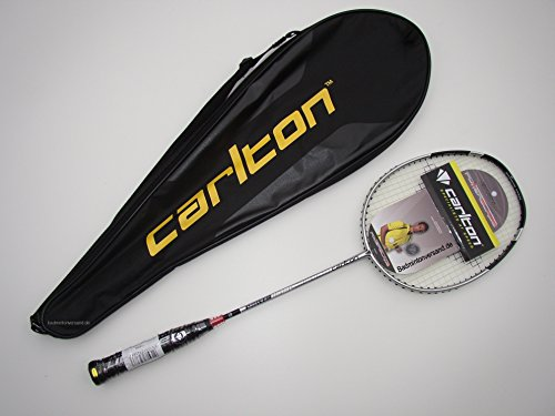 Badminton Schläger Carlton Powerblade Superlite Silver Deluxe Edition