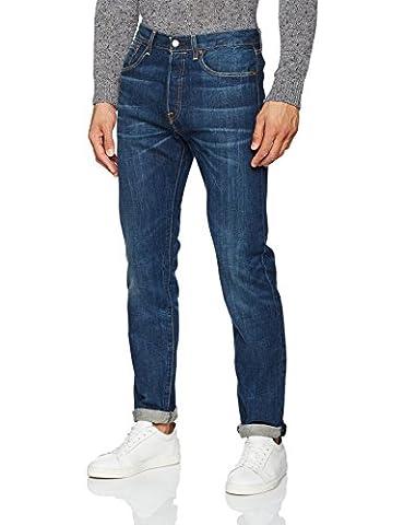 Levi's Damen Fit Jeans 501 Customized+Tapered, Schwarz (the Night 78), W33/L34