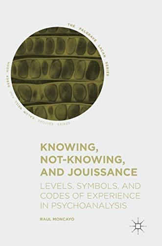 Knowing, Not-Knowing, and Jouissance: Levels, Symbols, and Codes of Experience in Psychoanalysis (The Palgrave Lacan Series)
