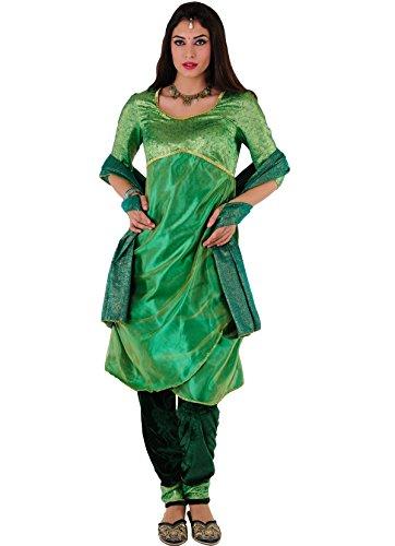 Kostüm Princesa Hindu-grüne