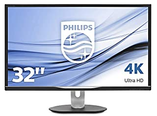 "Philips Brilliance 328P6VUBREB écran Plat de PC 80 cm (31.5"") 4K Ultra HD LCD Noir - Écrans Plats de PC (80 cm (31.5""), 3840 x 2160 Pixels, 4K Ultra HD, LCD, 4 ms, Noir) (B07FK6KFVM) 