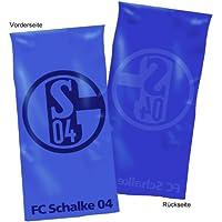 Schalke Wende-Duschtuch Schriftzug
