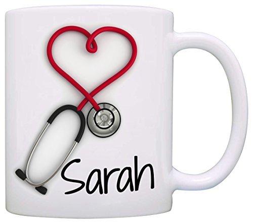 Personalizado. estetoscopio taza de café, una divertida y única para
