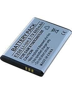 Batterie pour SAMSUNG GT-E1150i, 3.7V, 850mAh, Li-ion