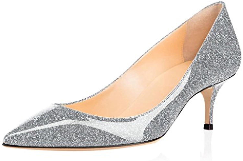 ELASHE- Scarpe da Donna - 6.5CM - Scarpe Tacco Gattino - Classiche Scarpe col tacco | Moderno Ed Elegante A Moda  | Scolaro/Ragazze Scarpa