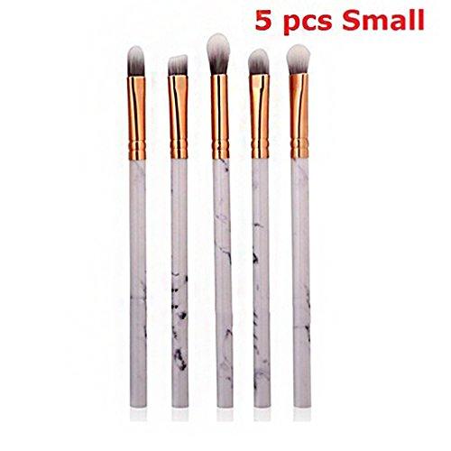 Rosepoem Make-up-Pinsel-Set Marmoriergriff Schönheits-Werkzeug-Mode-Lidschatten-Bürsten-Kosmetik-Werkzeug-Installationssatz