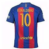 2016-17 Barcelona Sponsored Home Shirt (Ronaldinho 10) - Kids