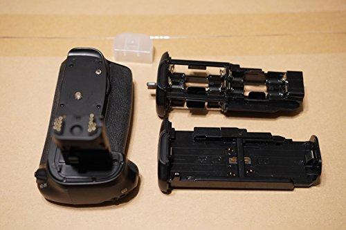 Meike MK-70D Grip Batteria per Canon EOS 70D, Nero