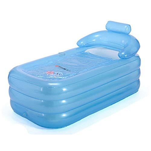 Pliage baignoire Baignoire gonflable taille adulte Portable Home Spa Baignoire confortable de qualité - Nouveau modèle plus forte fermeture à glissière (Couleur : C)
