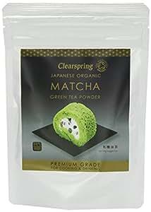 Clearspring Organic Japanese Matcha Green Tea Powder Premium Grade 40 g