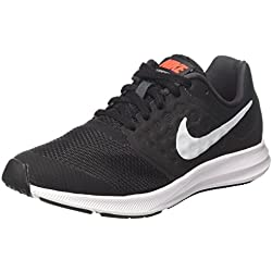 Nike Downshifter 7 (Gs), Zapatillas de Running para Niños, Gris (Anthracite/Pure Platinum/Black), 37.5 EU