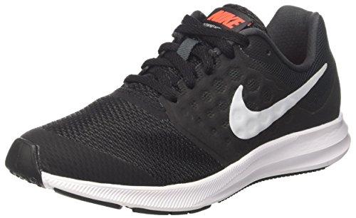 Nike Jungen Downshifter 7 (GS) Laufschuhe, Grau (Anthracite/Pure Platinum/Black), 38 EU (7 Laufschuhe Herren)