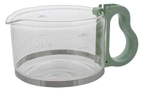 Codiac 340156Ersatz-Glaskanne für Philips HD 7444 Comfort – HD 7956/,Glas, Grün