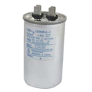 30uF 450V AC Film de polypropylène à condensateur moteur CBB65A - 1