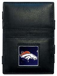 NFL Denver Broncos Leather Jacob's Ladder Wallet