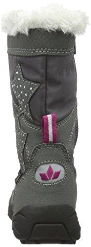 Lico Cathrin, Bottes de Neige Fille Gris (Grau/pink)