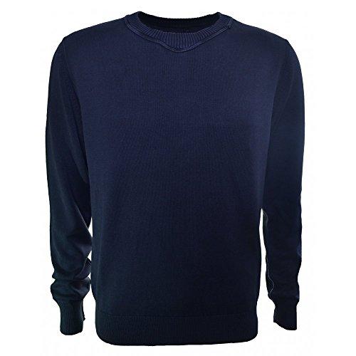 Replay -  Maglione  - Maniche lunghe  - Uomo blu Blu navy