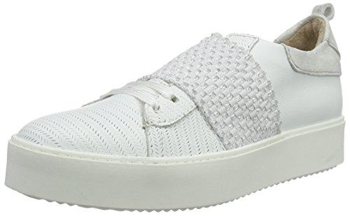 Mjus 894104-0102, Sneakers basses femme Weiß (Bianco/Bianco/Argento)