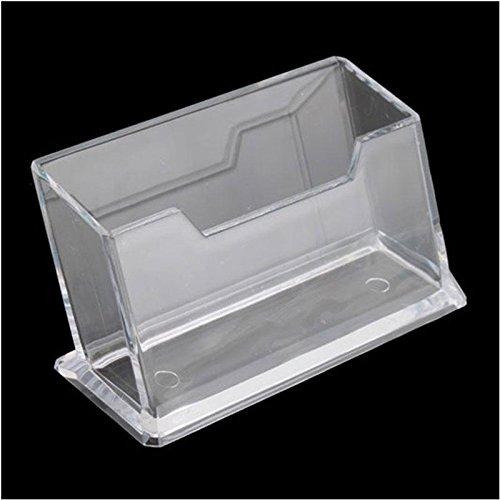 """Características:Hecha de plástico transparente.Material: Acrílico.Color: Transparente.Tamaño: 10.1cm x 5.1cm x 4.5cm-3.97inch x 2.01""""x 1.58inch.El paquete incluye:1x Tarjeta Soporte ExpositorNo caja al por menor. Embalado con seguridad en bo..."""