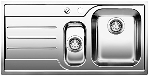 BLANCO MEDIAN 6 S-IF - FREGADERO (ACERO INOXIDABLE  345 X 400 MM  19 CM  100 CM  50 CM  19 CM)