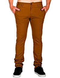 Volcom Frickin Tight Chino Pant Caramel