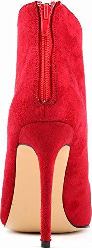 Color Brida Mujer Salabobo Rojo De De Tiene w5tTWpqX