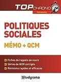 Lire le livre Politiques sociales gratuit