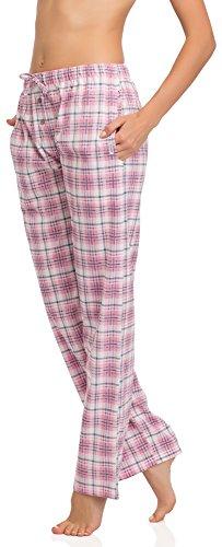 Cornette Bas de Pyjama Femme CR-690 Rose/Blanc/Gris(565603)