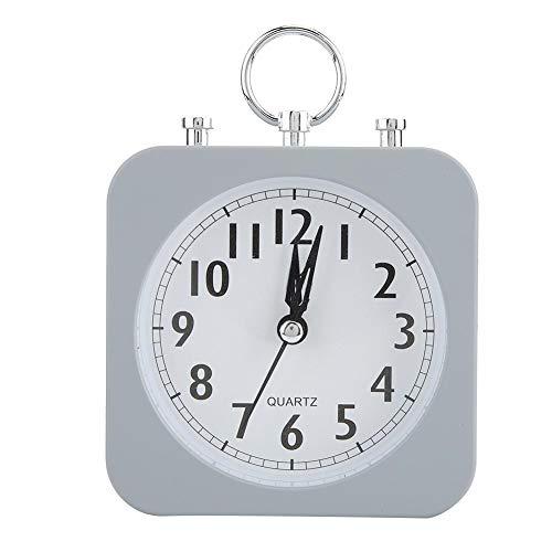 Wifehelper Vintage Retro Clásico Reloj de Alarma de Escritorio Silencioso Timbre sonoro Campana Reloj...