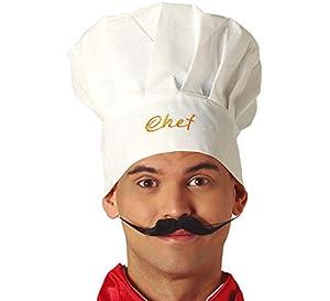 Guirca-13868 Gorro Chef Cocinero, Multicolor (13868)
