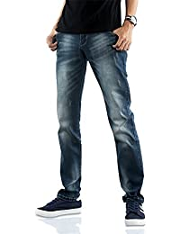 Demon&Hunter 817 Mince Séries Pour des hommes Extensibles Ample Jeans
