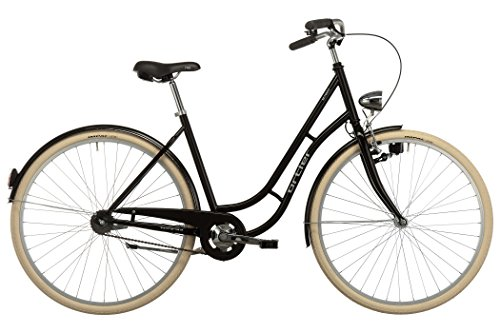 Ortler Detroit Limited - Bicicleta holandesa mujer - negro 2017 Bicicleta urbana