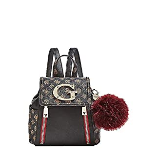 HWSG7444320 Black Multi Guess GUESS HANDBAG MAIN Borsa Donna