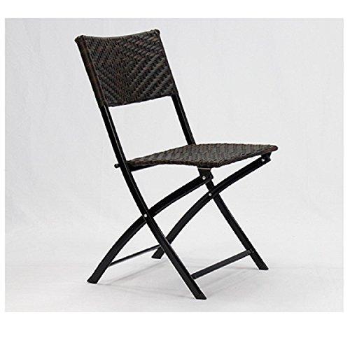 ... GAOJIAN Rückenlehne Klappstuhl Metall Gummi Rattan Stuhl Konferenz Stuhl  Outdoor Freizeit Computer Stuhl Portable Stuhl Hocker ...