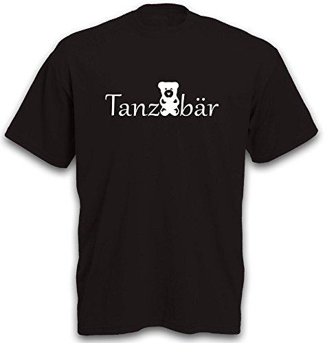 T-Shirt Tanzen Dancing Musik Party Tanzbär Fete Herren b&c Gr. XL - Tanzbären