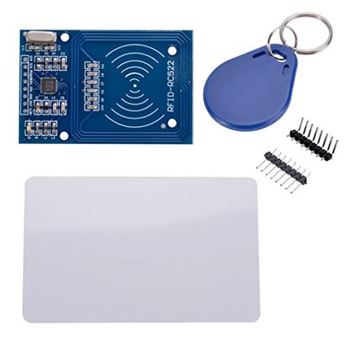 Leoboone 1 STÜCKE RC522 Karte Lesen Antenne RF RFID Leser IC Karte Näherungsmodul MFRC-522 + Key Mini Board Hohe Leistung 1 Proximity Card
