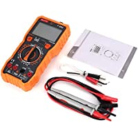Mountxin NJTY T28C Digitalmultimeter DC/AC Volt Amp Ohm Diode NCV Mini Multitester - Orange & Grau