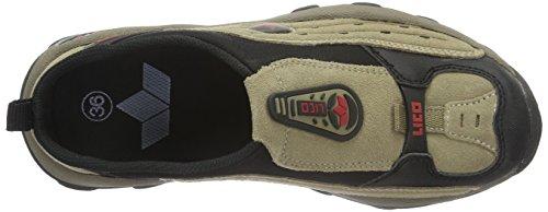 Lico 410013, Chaussures de randonnée homme Marron (Braun/Schwarz/Rot)