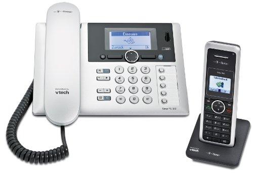 Deutsche Telekom T-Home Sinus PA302i plus 1 Schnurlostelefon schwarz/silber Test