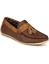 Big Fox New Brown Synthetic Casual Loafers Shoes for Men/Boys. ON Sale Now!