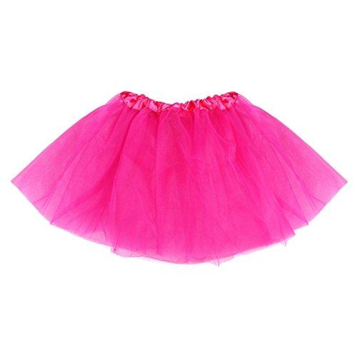 z Röcke Kinder Baby Mädchen Partei Tanz Ballett Ballettröckchen Rock Kleid Tanzbekleidung (Kleinkind Kostüm Candy)