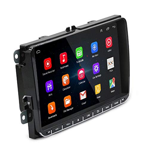 Eruditter Autofahrer-Recorder Android 8.1 Nachtsicht USB-Autokamera Für VW Volkswagen Skoda Golf 5 Golf 6 Polo Passat B5 Bette Jetta TIGUAN DVD-Player BT RDS Video-eingang, Usb-dvr