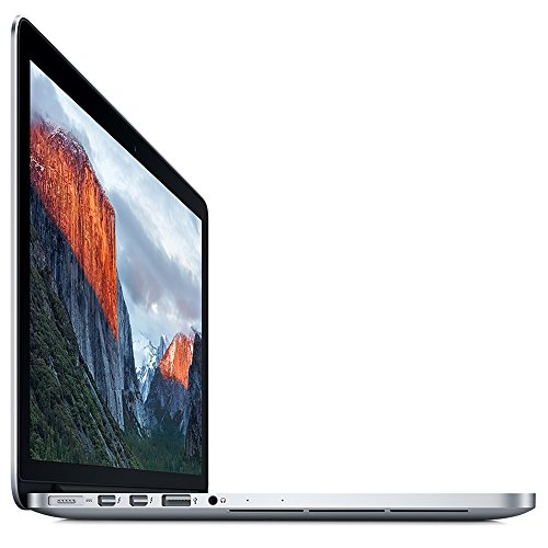 Apple MacBook Pro with Retina Display 13-inch Laptop (Intel Core i5 2.7 GHz, 8 GB RAM, 128 GB, Intel Iris, macOS) - Silver - 2015 - MF839B/A - UK Keyboard