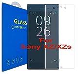 Sony Xperia XZ / XZs - 3D Incurvé Verre Trempé - Transparent 3D Film Protection en Verre trempé écran Protecteur Vitre - Ultra Résistant Dureté 9H 0.26mm Glass Screen Protector pour Sony Xperia XZ / Sony Xperia XZs / Sony Xperia XZ Dual