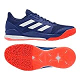 adidas Herren Stabil Bounce Handballschuhe, Mehrfarbig (Tinmis/Ftwbla/Rojsol 000), 47 1/3 EU