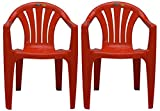 #6: PRIMA - 2015 Chair (Red Color) - Set Of 2.