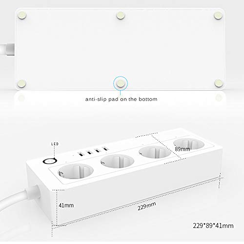 Zoom IMG-3 konesky smart power strips protezione