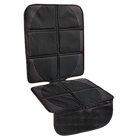 Autositzauflage zum Schutz vor Kindersitzen(ISOfix geeignet) von Xingzhao, Autositz-Schutz schmutzabweisend und universell passend, Autositzschutz, Autositzunterlage, Schoner in universeller Passform, mit verstärkten Nähten & Anti-Rutsch-Unterseite
