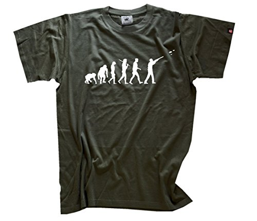 Tontauben Evolution T-Shirt Olive XXL
